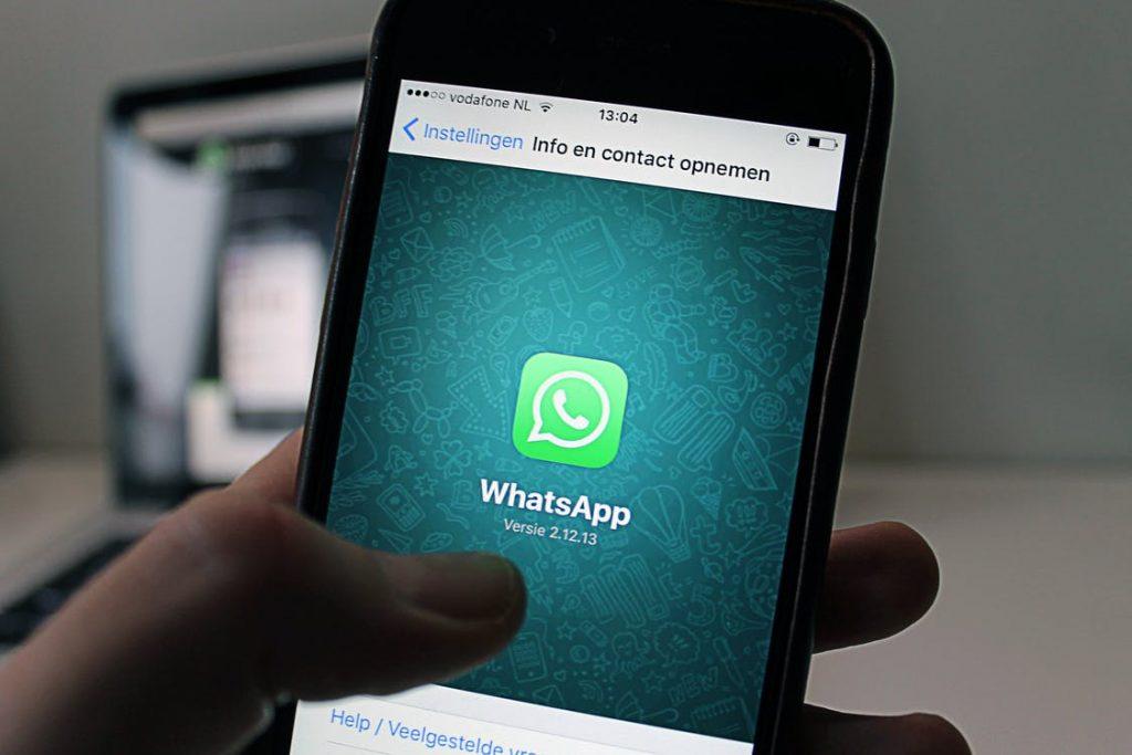 contacten whatsapp